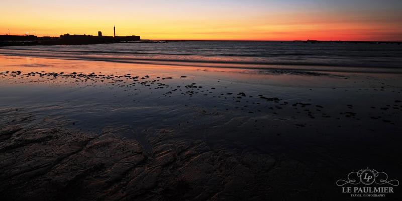 La Caleta Beach Cadiz Spain