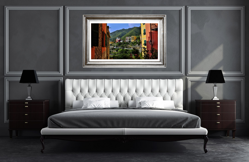 Artwork - Corniglia Italy Sample Frame On Wall