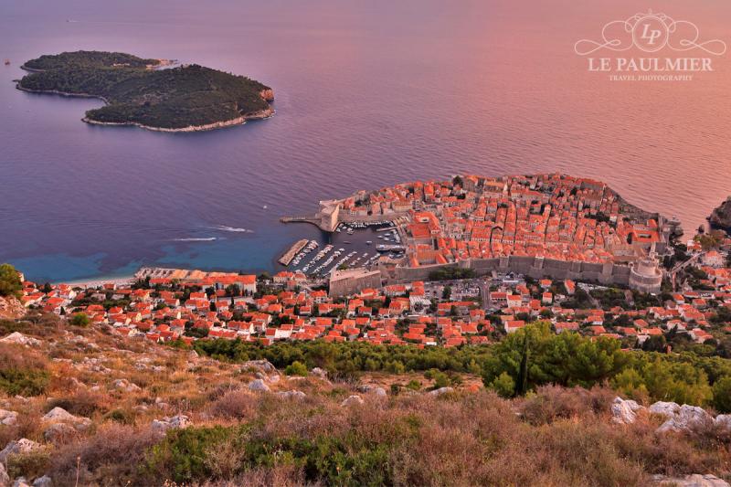 Dubrovnik Croatia Sunset