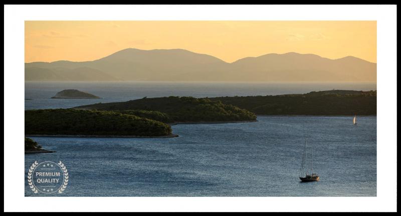 Hvar Croatia Sunset Sample Frame