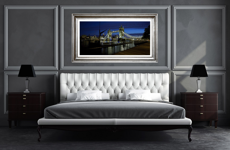 Artwork - London Bridge UK Sample Frame On Wall