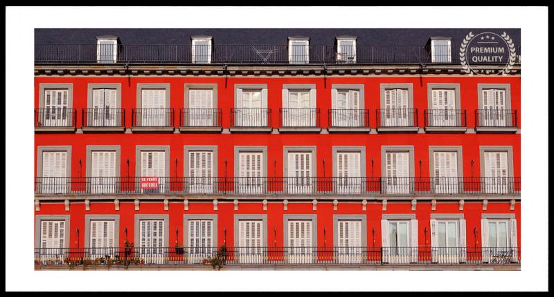 Madrid Plaza Mayor Building Frame