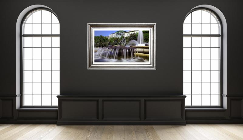 Madrid Fountain Morning Gallery