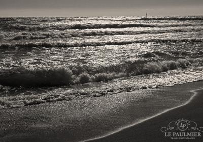 Marbella Spain Beach Storm