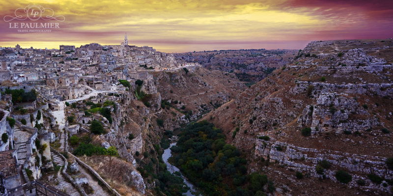 Photo - Matera Italy Early Sunset