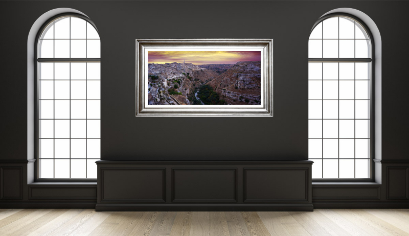Matera Early Sunset Gallery