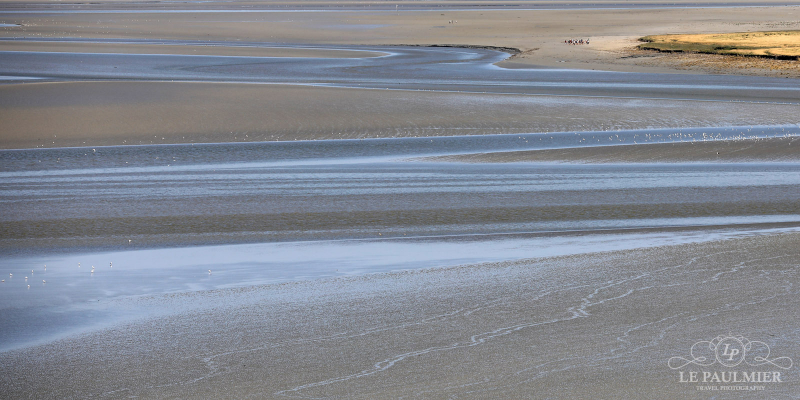 Mont Saint Michel France Sands