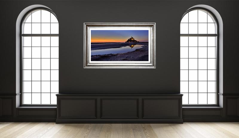 Mont Saint Michel Sunset Low Tide Gallery