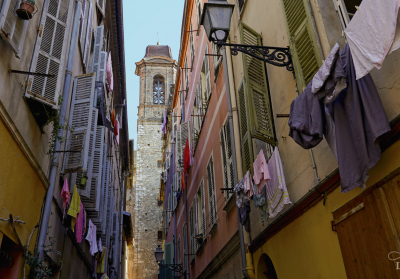 Photo - Old Nice (France) Narrow Street