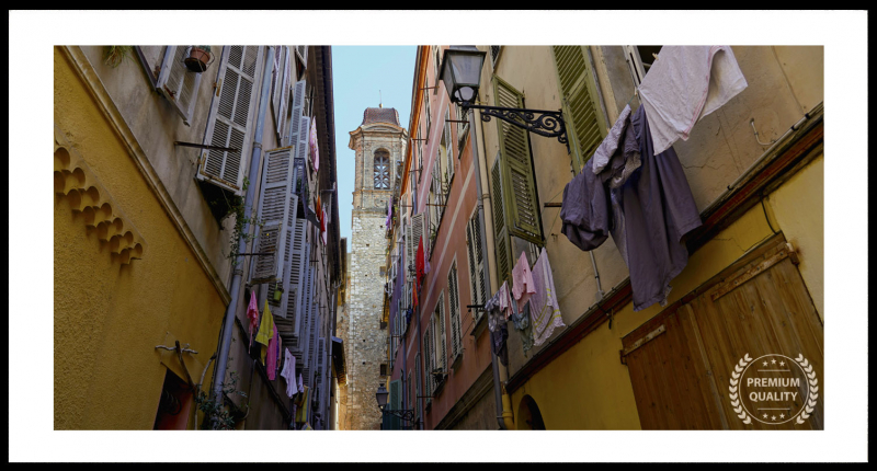 Artwork - Nice Narrow Street Sample Frame