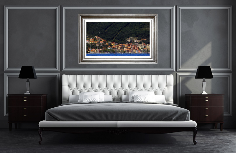 Artwork - Fezzano Italy Sample Frame On Wall