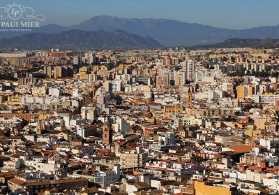 Malaga Spain Cityscape