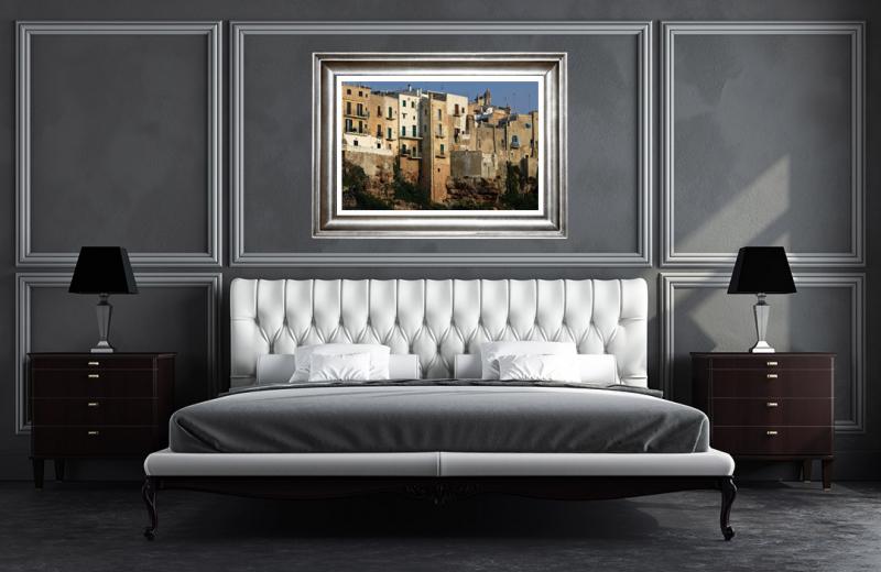 Artwork - Pogliano A Mare Buildings Sample Frame On Wall