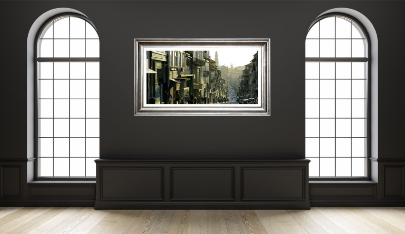Porto Busy Street Spring Gallery