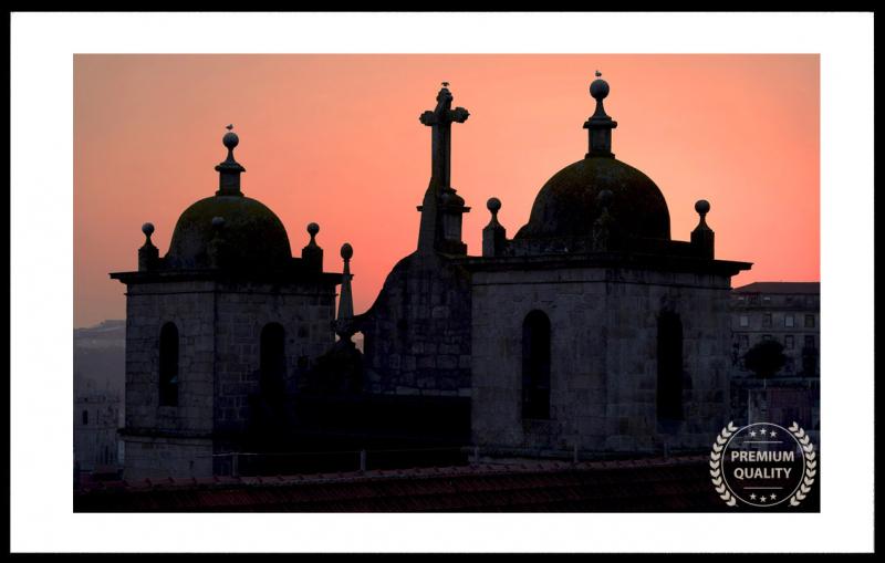 Porto Church Bells Sample Frame On Wall