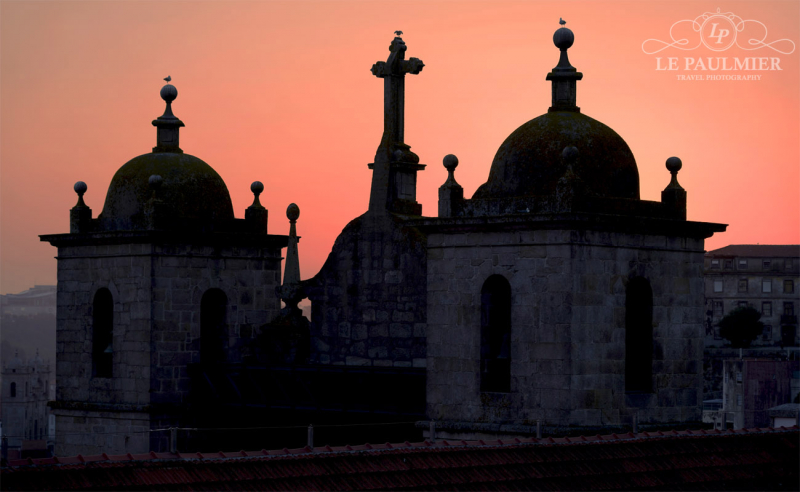 Porto Portugal Church Bells Sunset