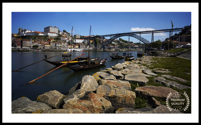 Porto Douro Waterfront Sample Frame