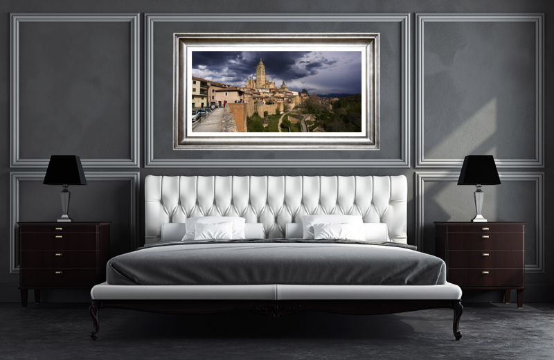 Artwork - Segovia Landscape Sample Frame On Wall