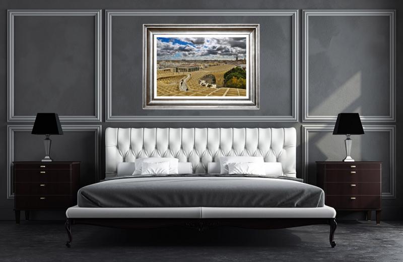 Artwork - Seville Parasol Sample Frame On Wall