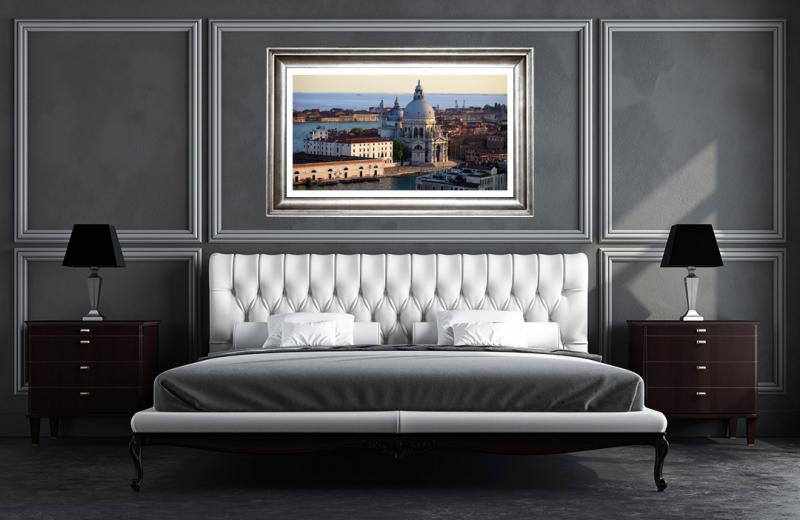 Artwork - Basilica Di Santa Maria Sample Frame On Wall