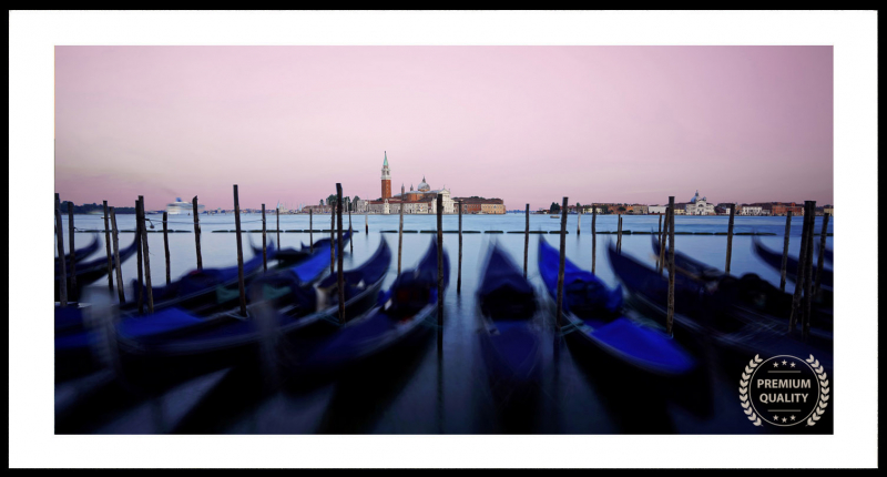 Artwork - Venice Italy Lagoon Morning Sunrise