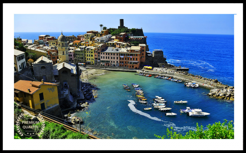Vernazza Summer Afternoon Sample Frame