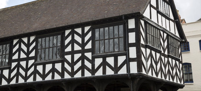 Ledbury Medieval Building UK