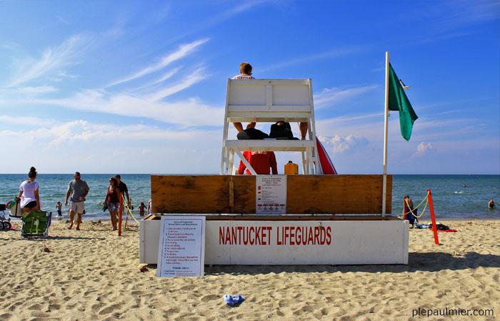 nantucket beach lifeguard station