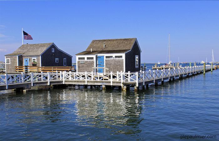 nantucket homes over water