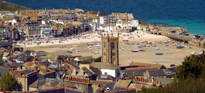 St Ives Port Cornwall