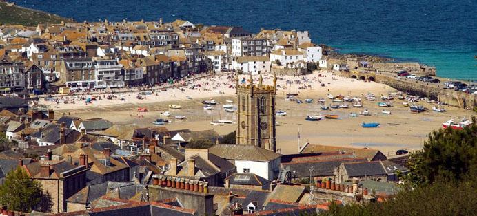 St Ives Port Cornwall
