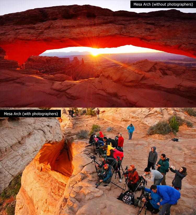 mesa arch utah sunrise